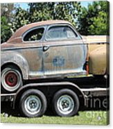 Rusty 1941 Chevrolet . 5d16210 Acrylic Print by Wingsdomain Art and Photography