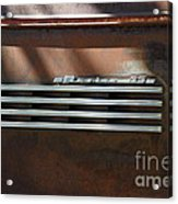 Rusty Old 1939 Chevrolet Master 85 . 5d16198 Acrylic Print by Wingsdomain Art and Photography