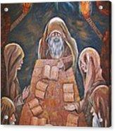 Sacred Tradition Acrylic Print by Judy Via-Wolff