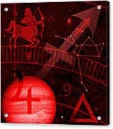 Sagittarius Acrylic Print by JP Rhea