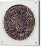Sahasrara Crown Chakra Plate Acrylic Print by Jaimie Gunn