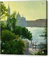 San Giorgio - Venice  Acrylic Print by Timothy Easton