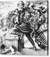 Santa Claus Acrylic Print by Granger