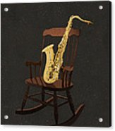 Sax Rocks Acrylic Print by Eric Kempson