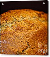 Scratch Built Bread Acrylic Print by Susan Herber