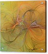 Sea Grass Sunset Acrylic Print by Betsy C Knapp