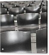 Sea Of Seats I Acrylic Print by Anna Villarreal Garbis