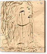 Sea Woman 2 Acrylic Print by Georgeta  Blanaru