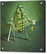 See No Weevil... Acrylic Print by Will Bullas