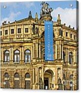 Semper Opera House Dresden Acrylic Print by Christine Till