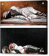 September Sixth Diptych Acrylic Print by Ian Hemingway