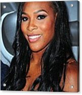 Serena Williams At Arrivals Acrylic Print by Everett