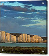 Seven Sisters Panorama Acrylic Print by Mark Leader