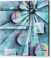Shades Of Fibonacci Acrylic Print by Hakon Soreide