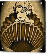 Shell With Child 2 Acrylic Print by Georgeta  Blanaru