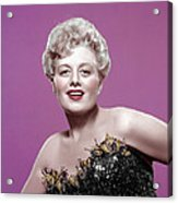 Shelley Winters, 1950s Acrylic Print by Everett