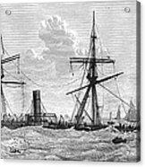 Shipwrecks, 1875 Acrylic Print by Granger