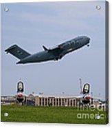 Short Field Takeoff Acrylic Print by Tim Mulina