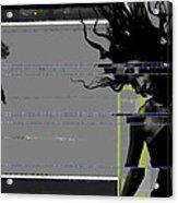Shuttered Glass Acrylic Print by Naxart Studio