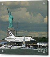 Shuttle Enterprise 3 Acrylic Print by Tom Callan