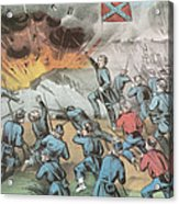 Siege And Capture Of Vicksburg, 1863 Acrylic Print by Photo Researchers