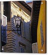 Siena Street Acrylic Print by Gordon Wood
