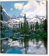 Sierra Acrylic Print by Kurt Van Wagner