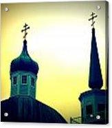 Sitka Russian Orthodox 9 Acrylic Print by Randall Weidner