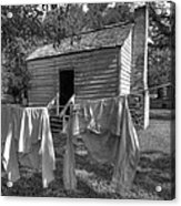 Slave's Quarters Acrylic Print by Bourbon  Street