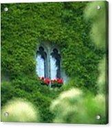 Sleeping Beautys Castle -- Dornroeschens Schloss Acrylic Print by Arthur V Kuhrmeier