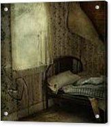 Sleepless Prayers  Acrylic Print by Jerry Cordeiro