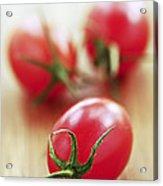 Small Tomatoes Acrylic Print by Elena Elisseeva