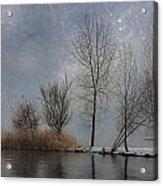 Snowfall Acrylic Print by Joana Kruse