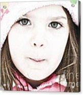 Snowy Innocence Acrylic Print by Gwyn Newcombe