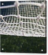 Soccer Net Acrylic Print by Paul Edmondson