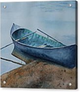 Solitude Acrylic Print by Patsy Sharpe