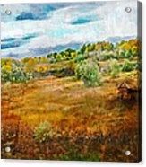 Somewhere In September Acrylic Print by Brett Pfister