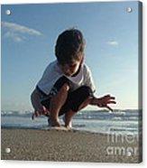 Son Of The Beach Acrylic Print by Jack Norton