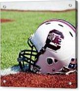 South Carolina Helmet Acrylic Print by Replay Photos