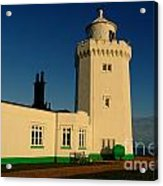South Foreland Lighthouse Acrylic Print by Serena Bowles