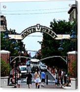 South Street - Philadelphia Acrylic Print by Bill Cannon