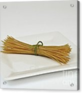 Soybean Spaghetti Acrylic Print by Photo Researchers