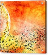 Space013 Acrylic Print by Svetlana Sewell