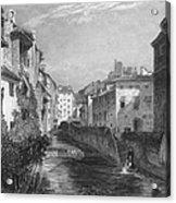Spain: Grenada, 1833 Acrylic Print by Granger