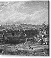 Spain: Madrid, 1833 Acrylic Print by Granger