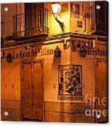 Spanish Taberna Acrylic Print by John Greim