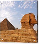 Sphinx Of Giza Acrylic Print by Jane Rix