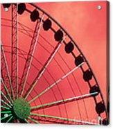 Spinning Wheel  Acrylic Print by Karen Wiles