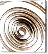 Spiral Acrylic Print by Bernard Jaubert