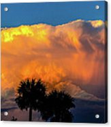 Spirit In The Clouds Acrylic Print by Shannon Harrington